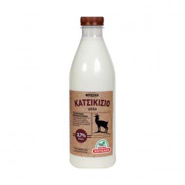 Φρέσκο Κατσικίσιο Γάλα από τη Φάρμα Κουκάκη