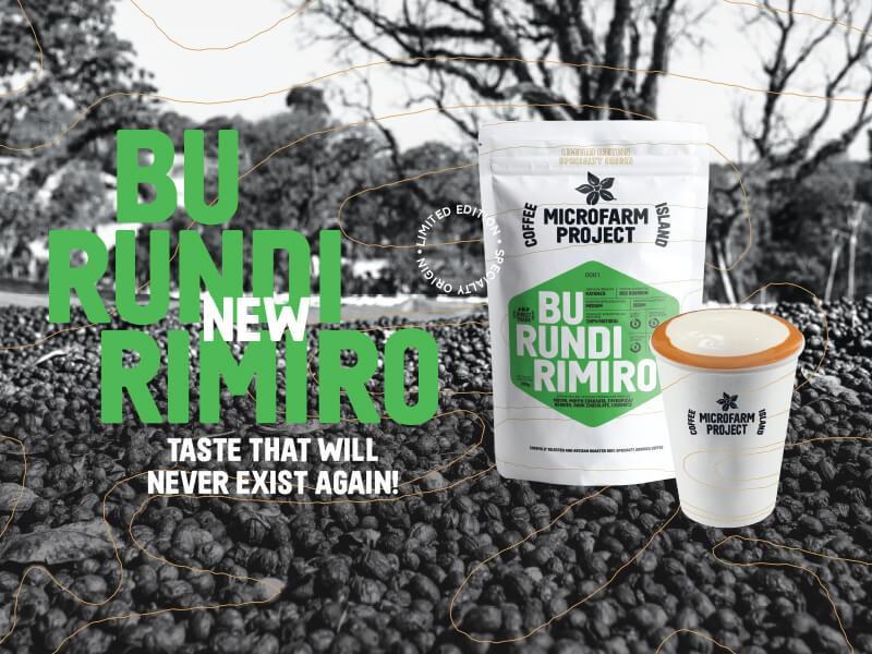 Burundi Rimiro: Νέος καφές στα καφεκοπτεία της Coffee Island