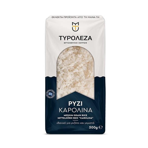 Ρύζι καρολίνα από την Τυρολέζα