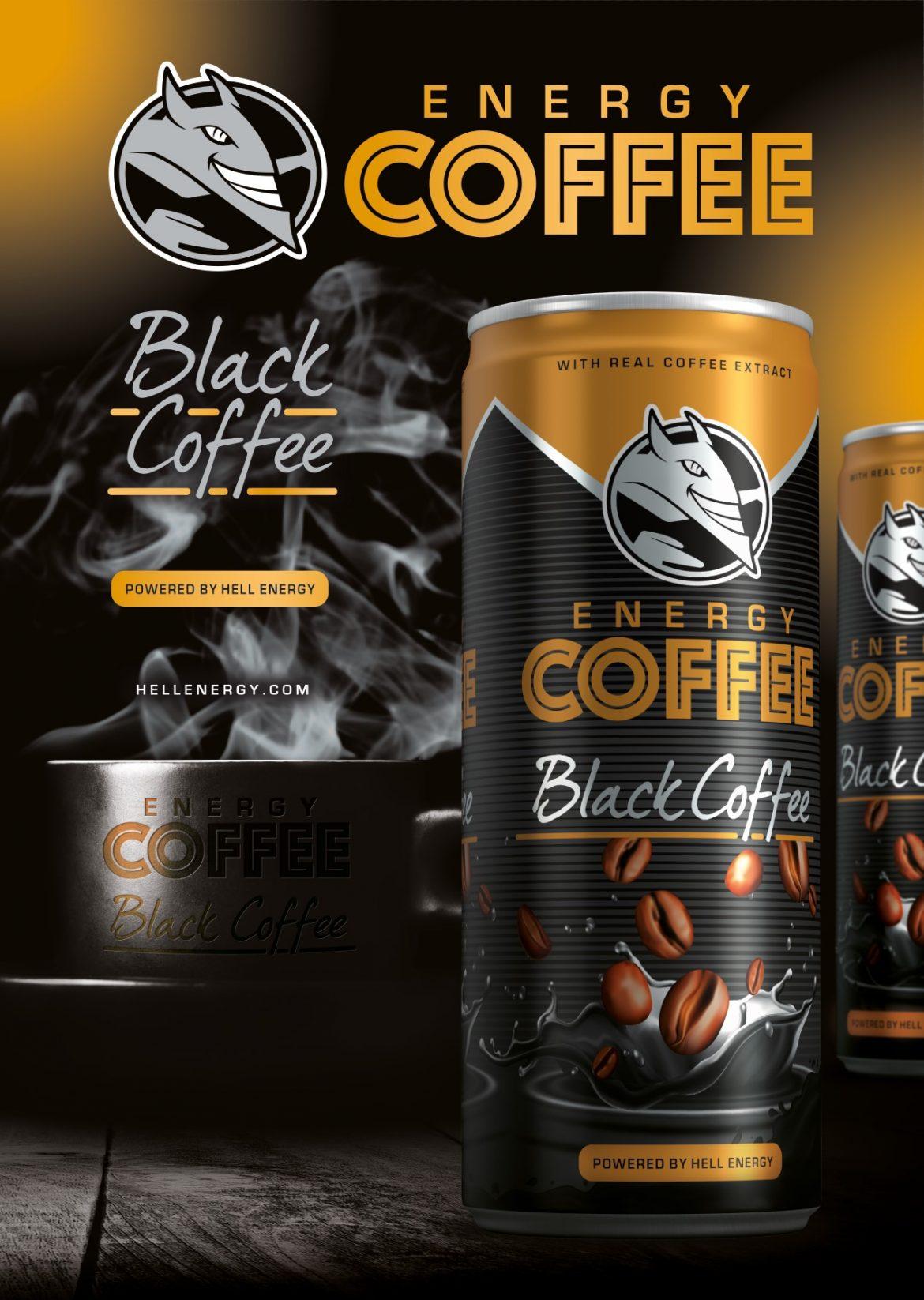 Η HELL ENERGY παρουσιάζει τη νέα γεύση ENERGY COFFEE Black Coffee αποκλειστικά για την ελληνική αγορά
