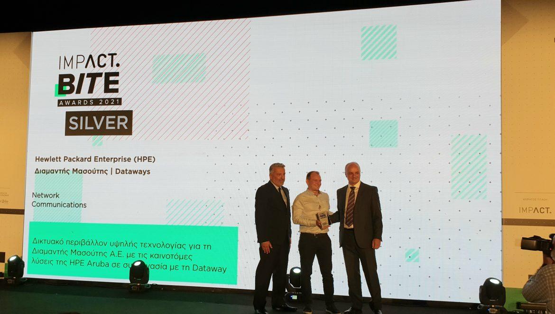 «Ασημένια» διάκριση για την HPE στα Ιmpact BITE Awards 2021