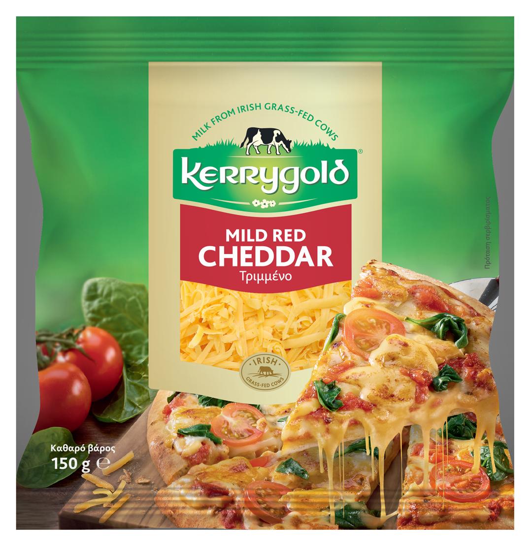 Νέο Kerrygold Cheddar τριμμένο για ακόμη μεγαλύτερη απόλαυση και ευκολία