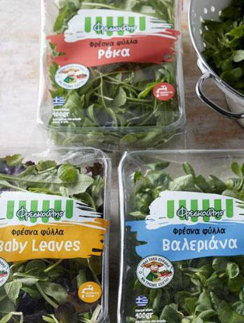 Λαχανικά και σαλάτες υψηλής ποιότητας από την Φρεσκούλης