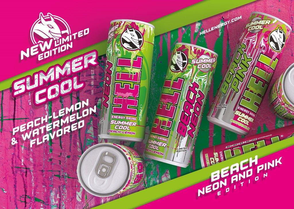 2 νέες Summer Cool γεύσεις από την HELL ENERGY