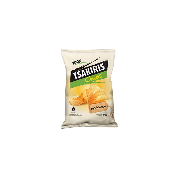 Tsakiris Chips με γεύση Ξίδι