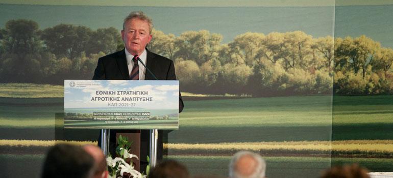 Ευρωπαίος Επίτροπος κ. Γιάννους Βοϊτσεχόφσκι: Φαινόμενο η ελληνική γεωργία