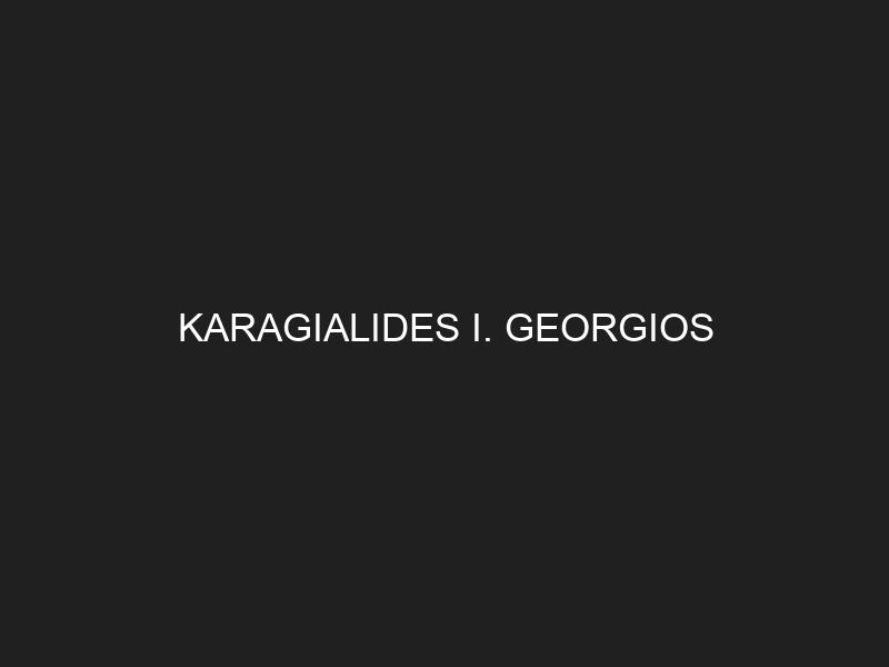 KARAGIALIDES I. GEORGIOS