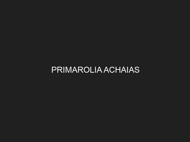 PRIMAROLIA ACHAIAS