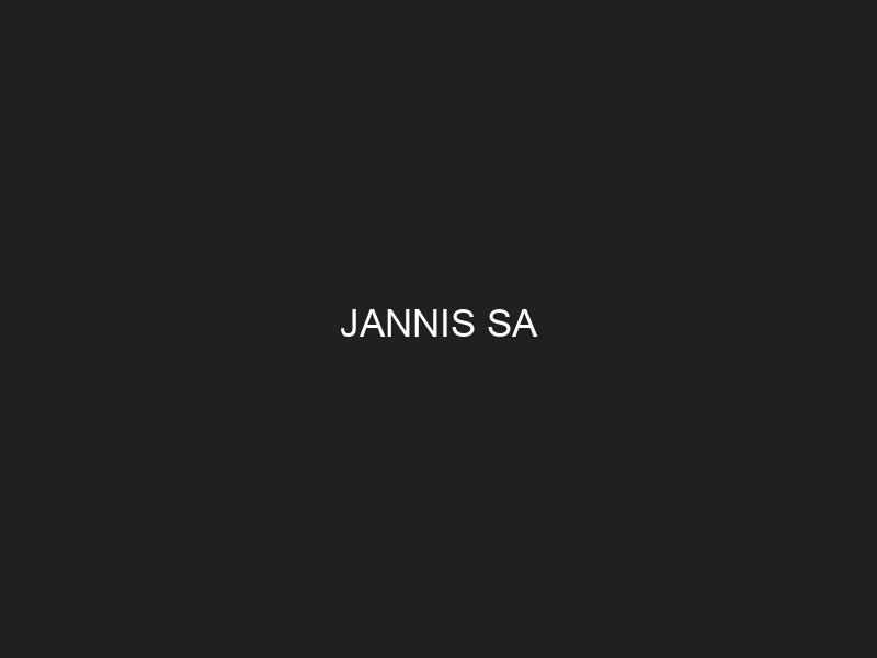 JANNIS SA