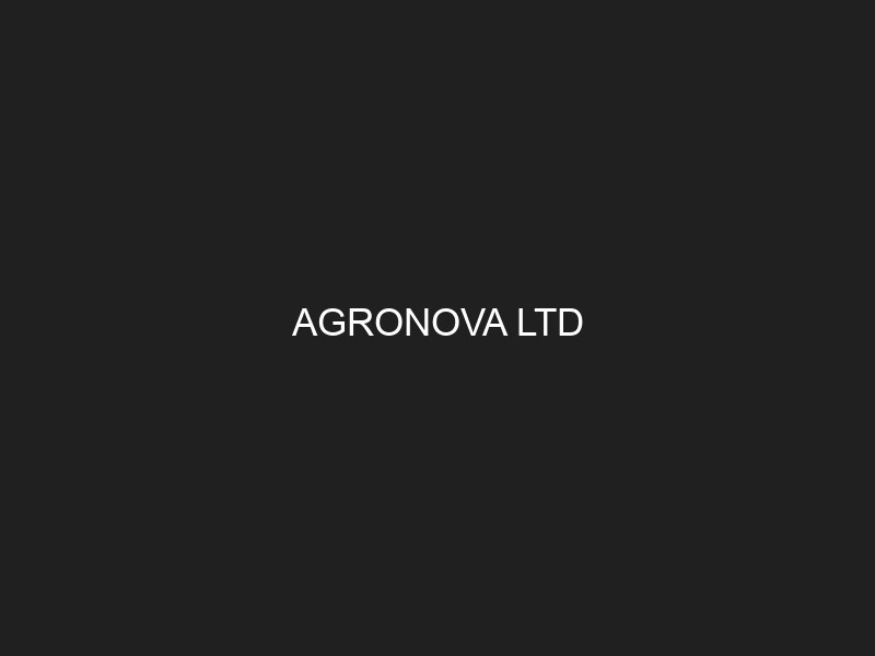 AGRONOVA LTD
