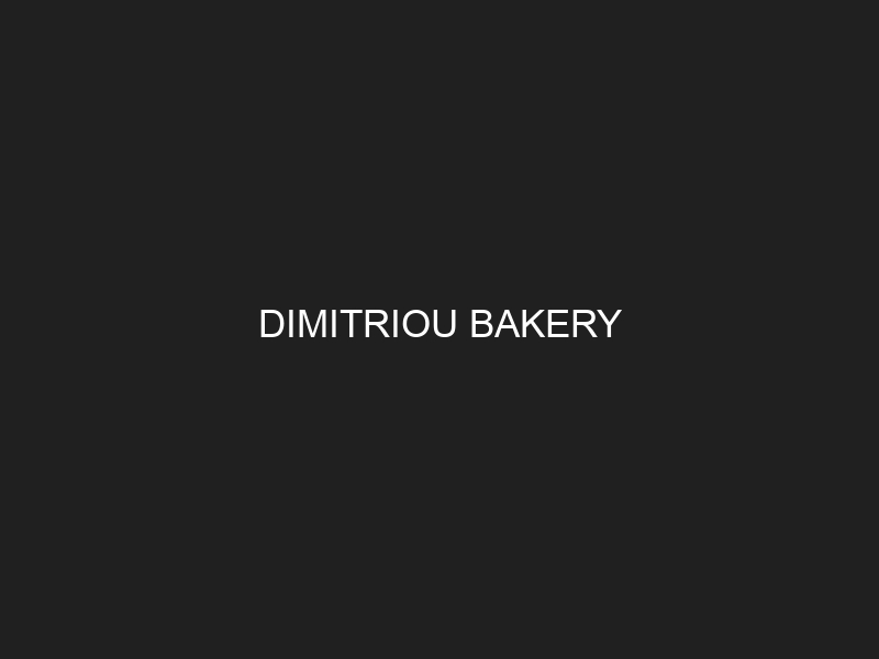DIMITRIOU BAKERY