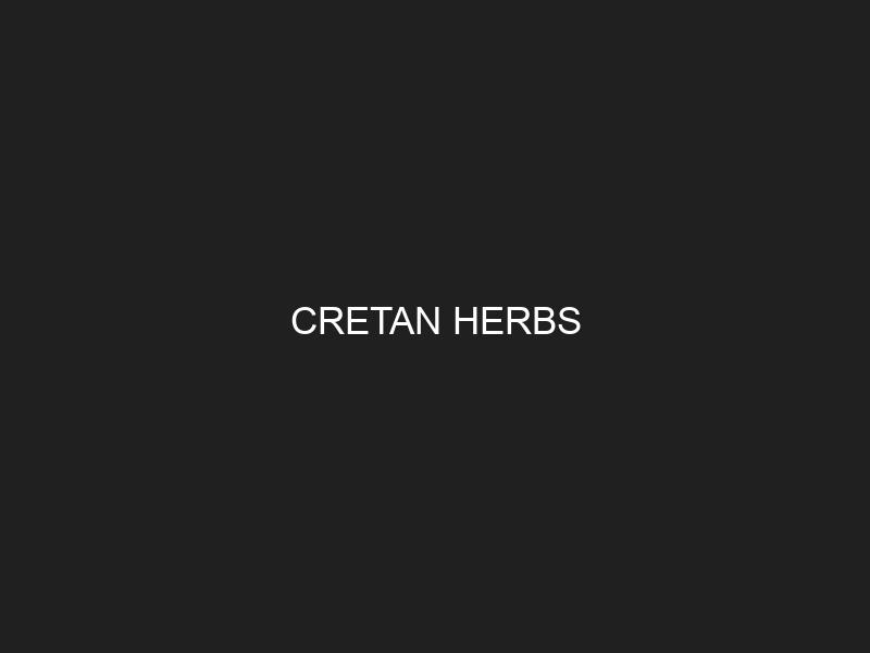 CRETAN HERBS
