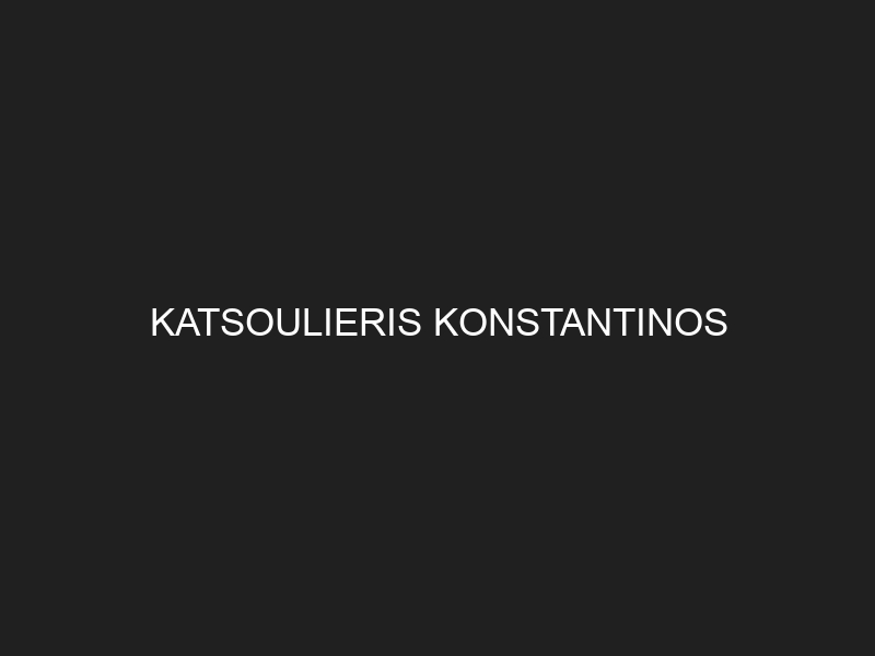 KATSOULIERIS KONSTANTINOS