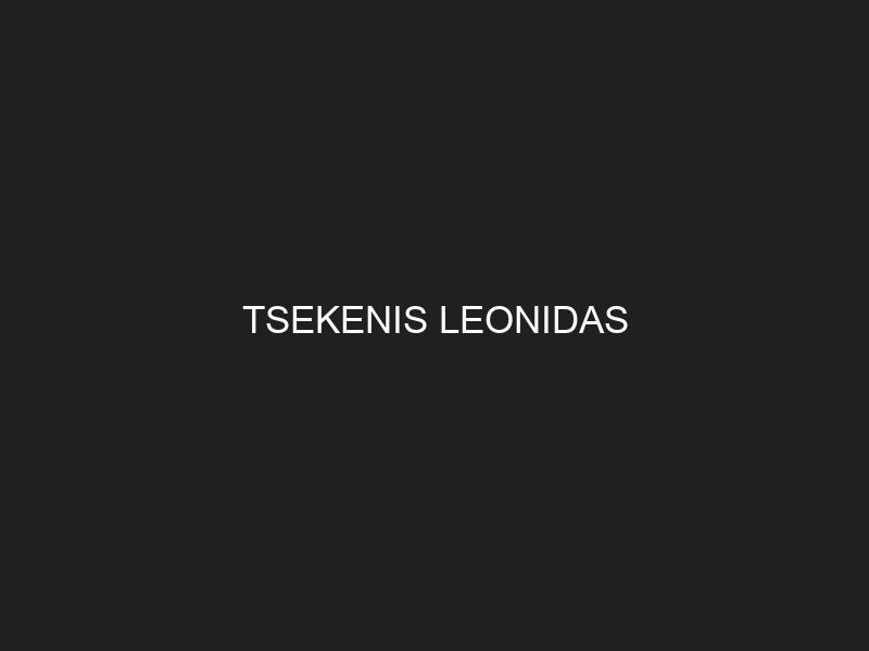 TSEKENIS LEONIDAS