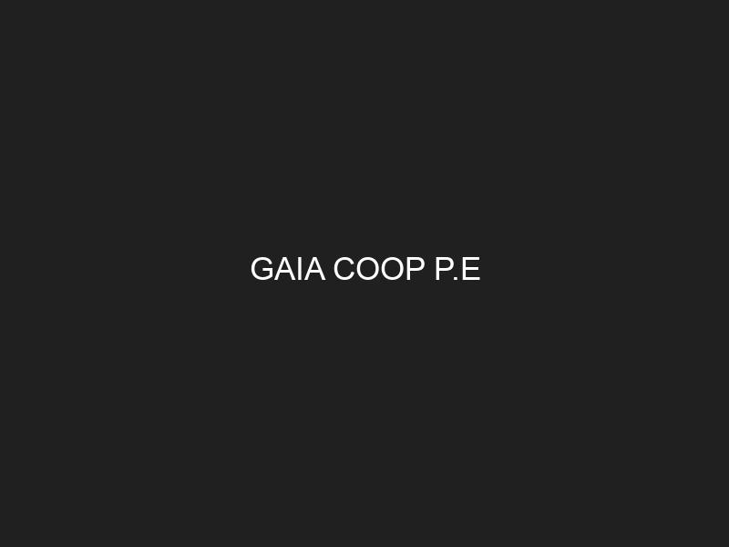 GAIA COOP P.E