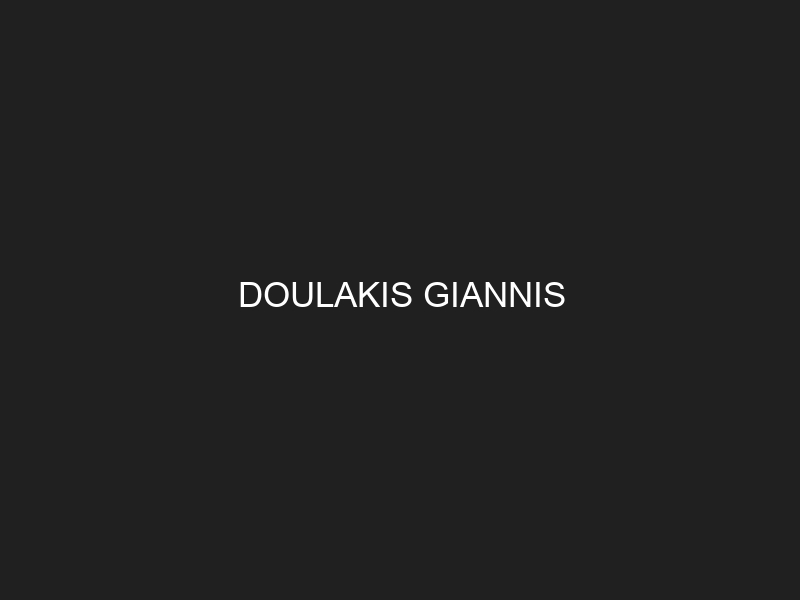 DOULAKIS GIANNIS