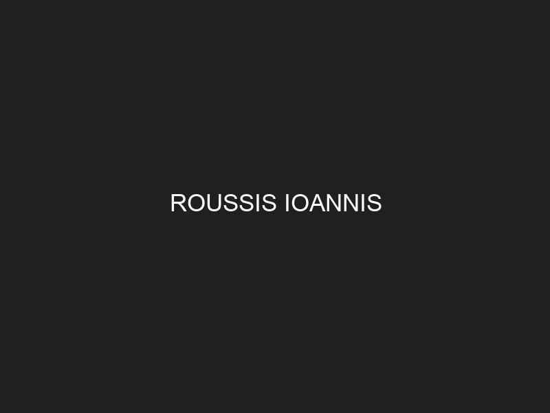 ROUSSIS IOANNIS