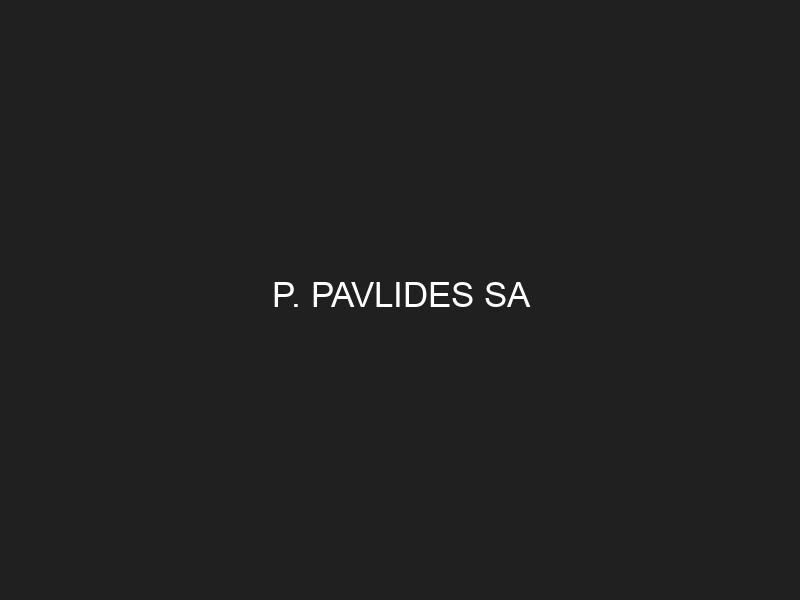 P. PAVLIDES SA