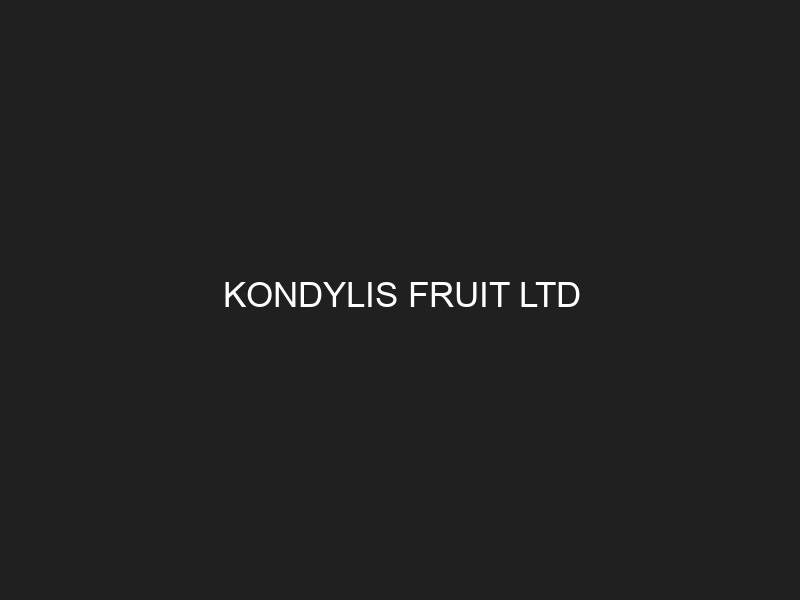 KONDYLIS FRUIT LTD