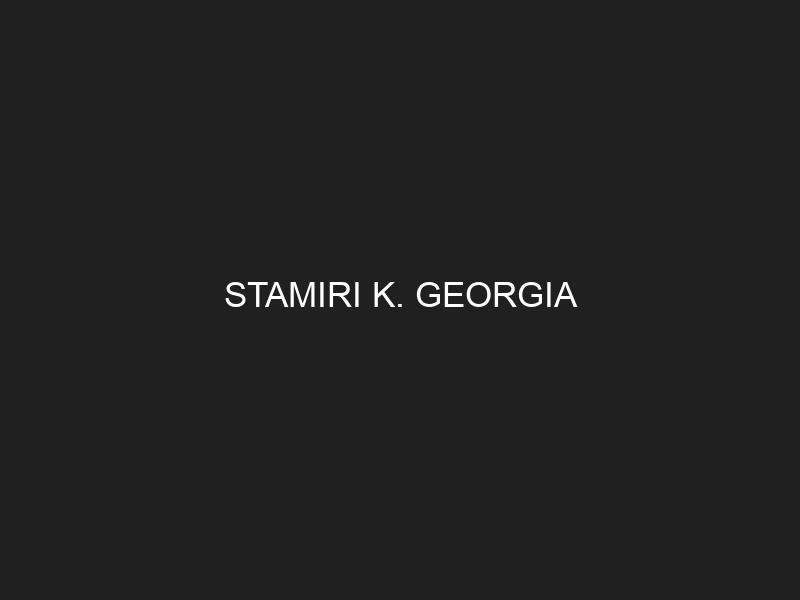 STAMIRI K. GEORGIA