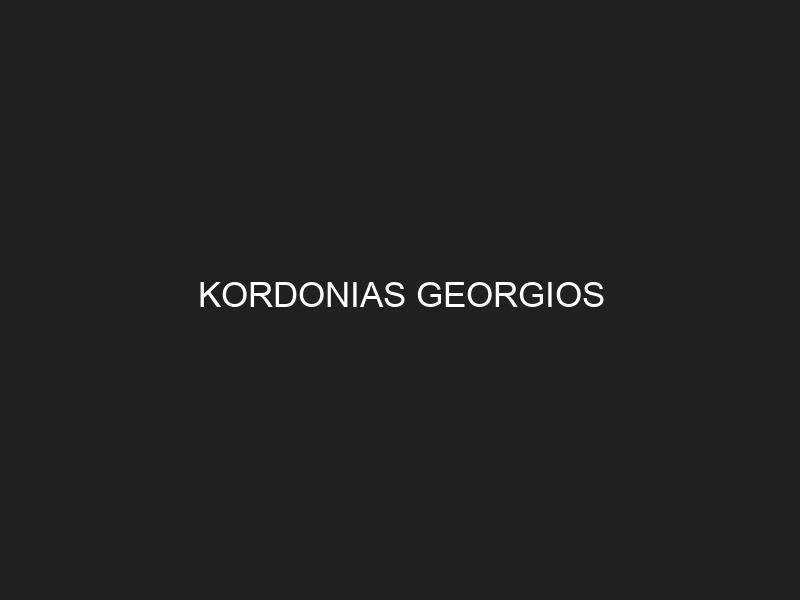 KORDONIAS GEORGIOS