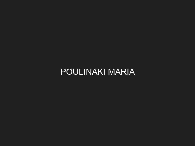 POULINAKI MARIA