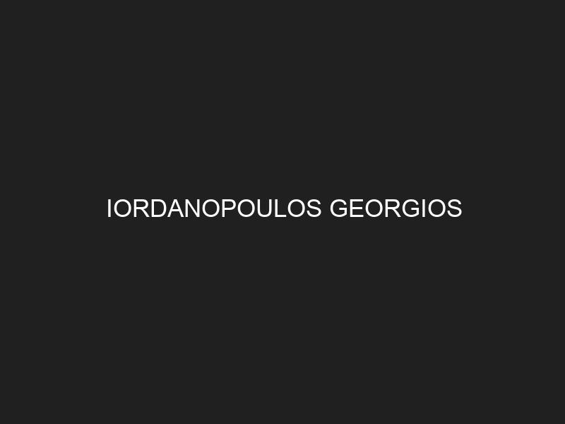IORDANOPOULOS GEORGIOS