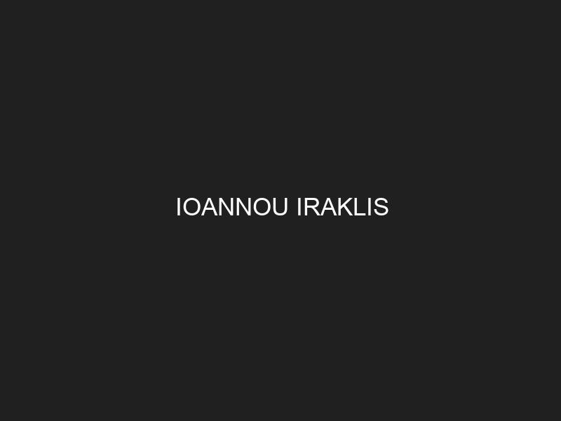 IOANNOU IRAKLIS