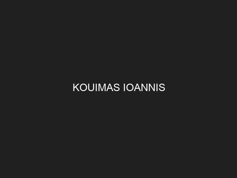 KOUIMAS IOANNIS