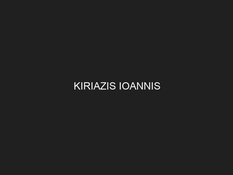 KIRIAZIS IOANNIS