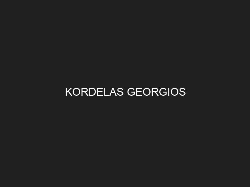 KORDELAS GEORGIOS