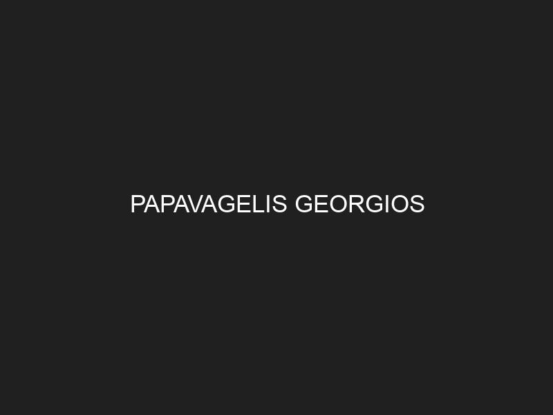 PAPAVAGELIS GEORGIOS